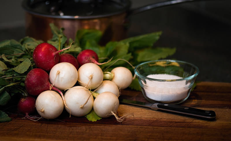 Radishes and Turnips